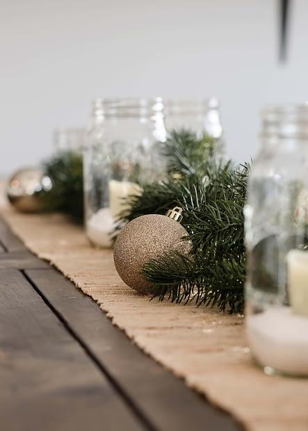 Simple Christmas Decor Ideas - Using Ornaments Beyond the Tree