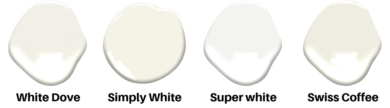 popular white paint colors