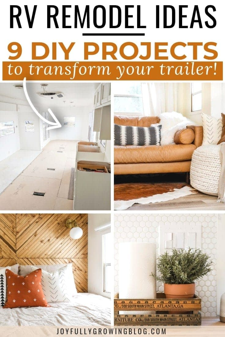 9 RV remodel project ideas