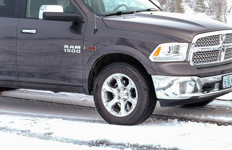 use winter tires for your winter road trip