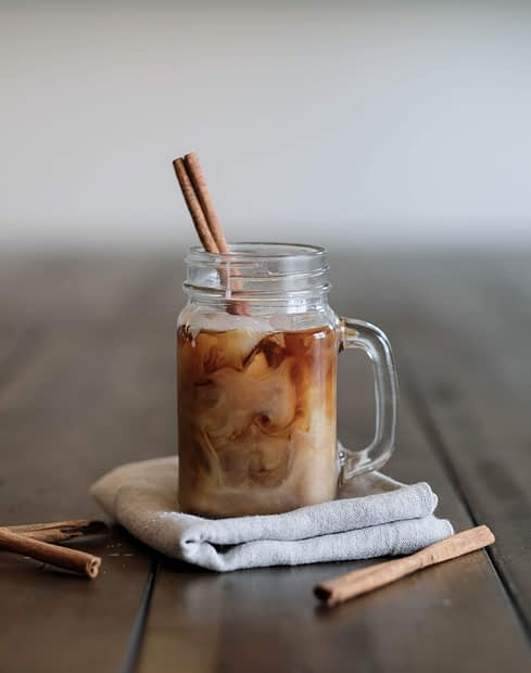 Cold Brew At Home + Homemade Coffee Syrup