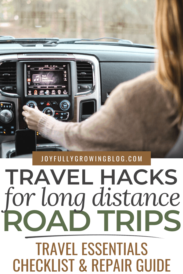 travel hacks for long distance road trips