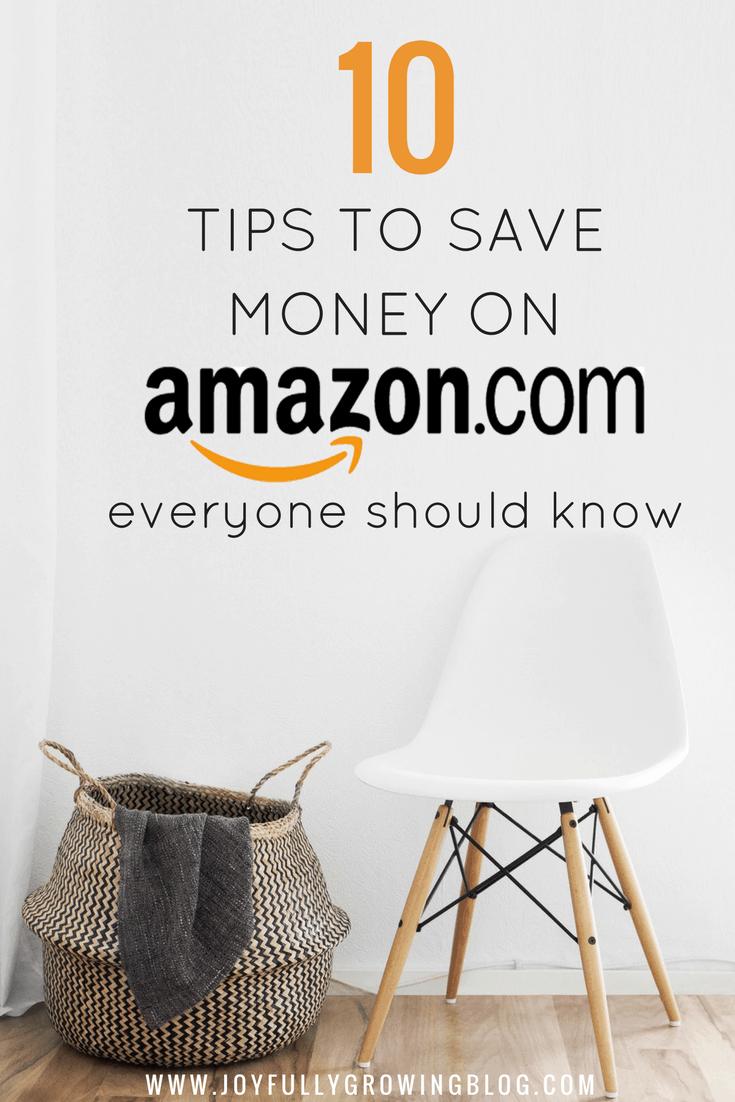 10 Brilliant Tips to Save Money on Amazon