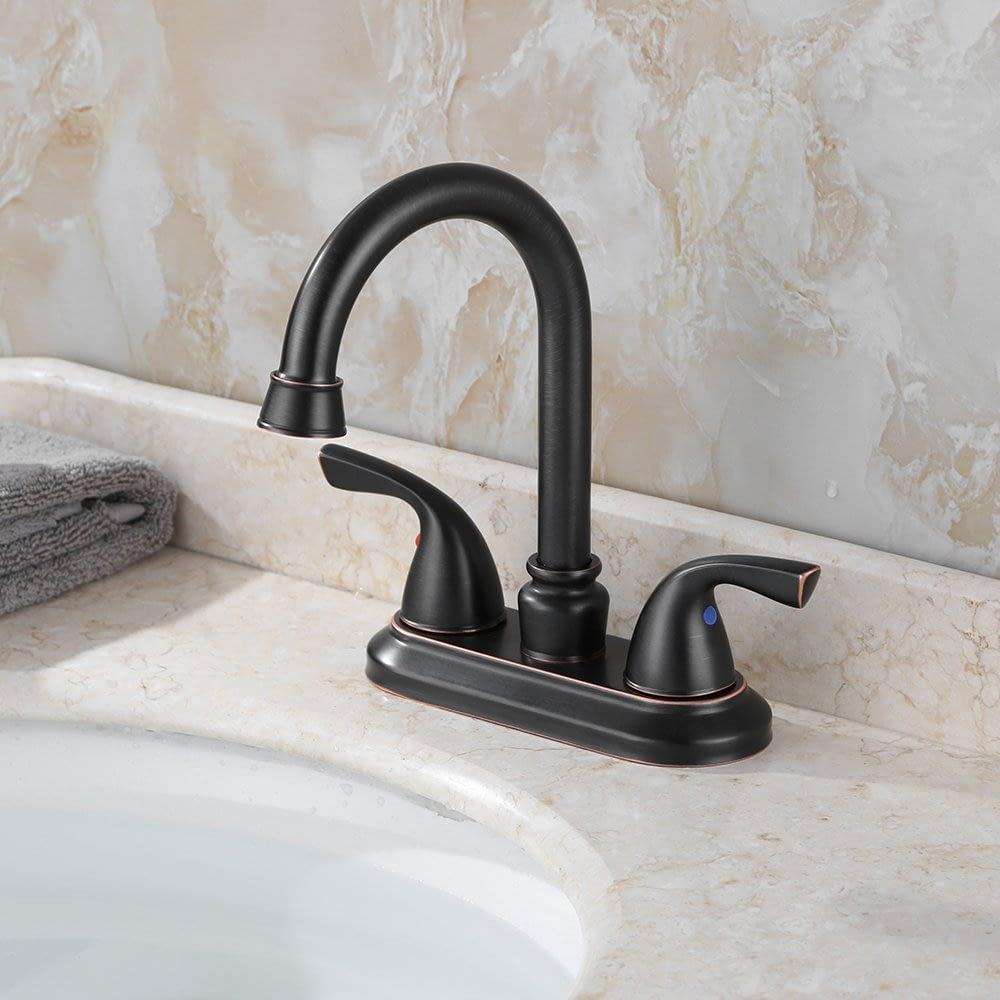 a budget friendly oil-rubbed bronze faucet
