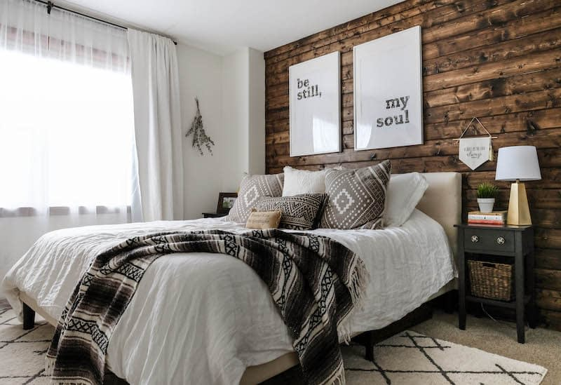 south facing bedroom