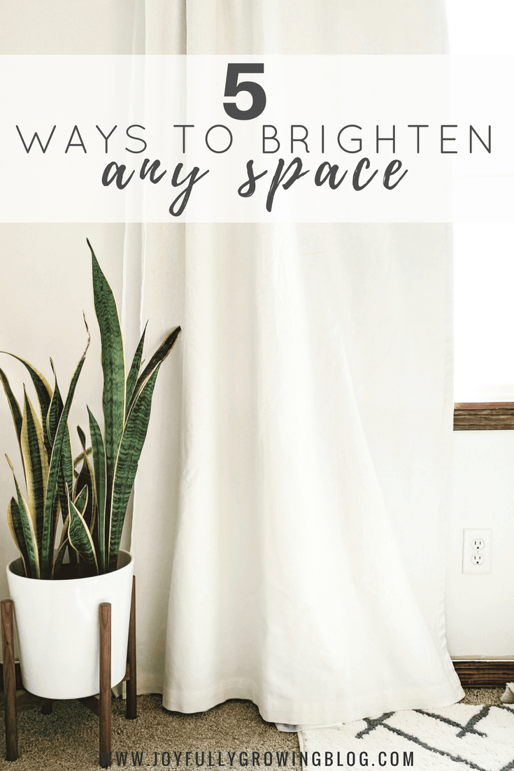 5 Ways to Brighten Any Space   Use these 5 tips to learn how to make any space in your home brighter.
