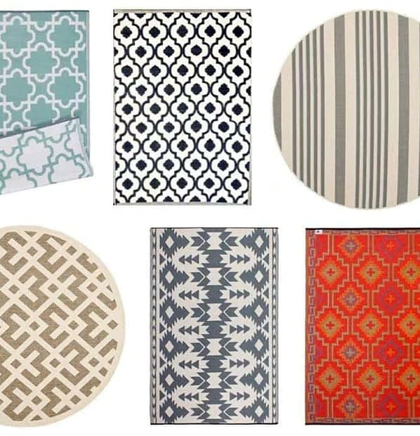 9 of the best outdoor rugs all available on Amazon Prime