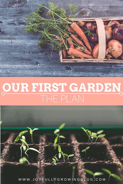 Our First Garden - The Plan